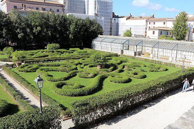 I Giardini di Palazzo Barberini a Castel Gandolfo
