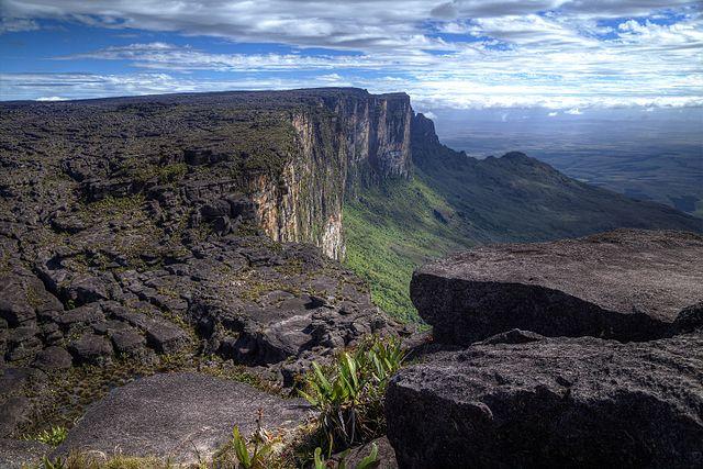 3 paradisi naturali al mondo: il monte Roraima, Venezuela