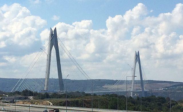Ponti più alti del mondo: il ponte Yavuz Sultan Selim di Istanbul