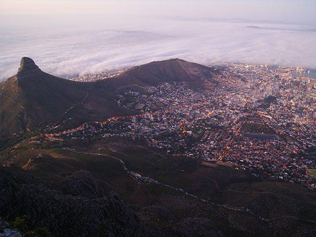 Città del Capo è una delle città più belle del mondo