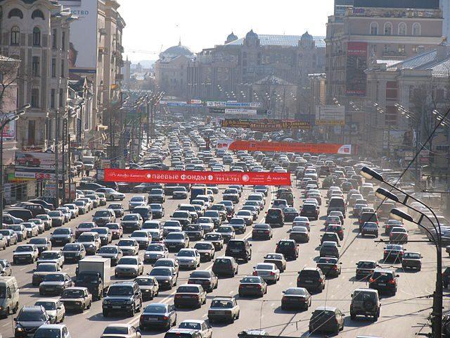 Mosca è la 2° città con il traffico più congestionato al mondo