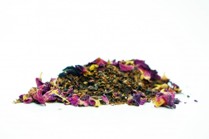 rose petal sample