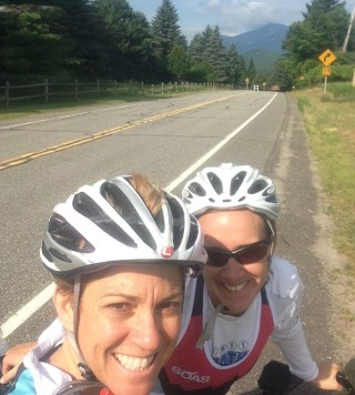 Riding in Lake Placid