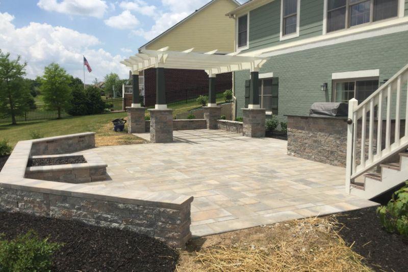 experienced patio design installation