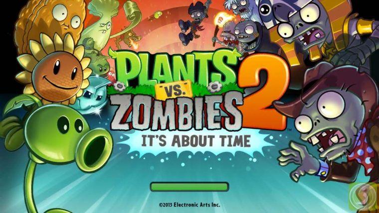 لعبة Plants vs Zombies 2