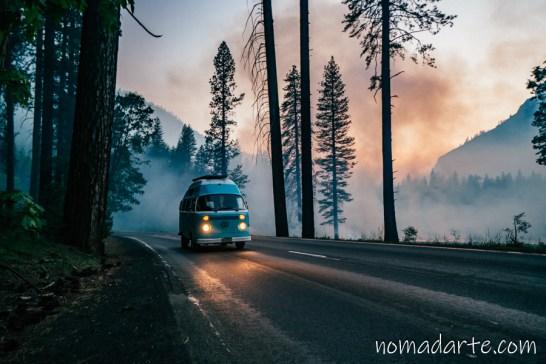 Parque Nacional Yosemite nomadarte vanlife-178