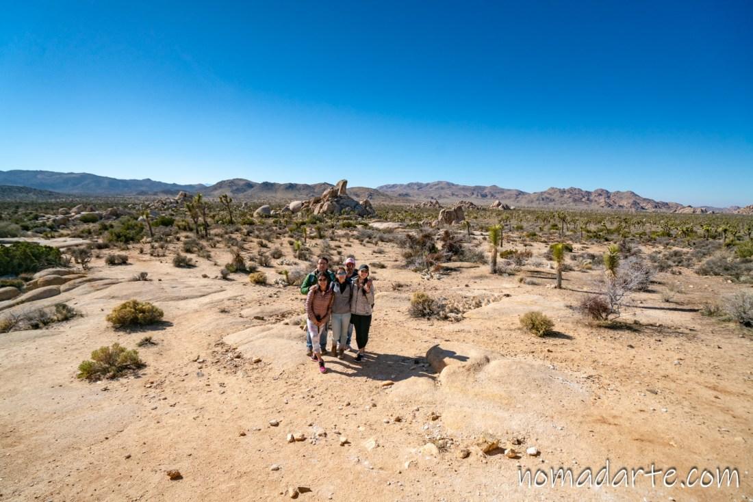 desierto california, nomadarte