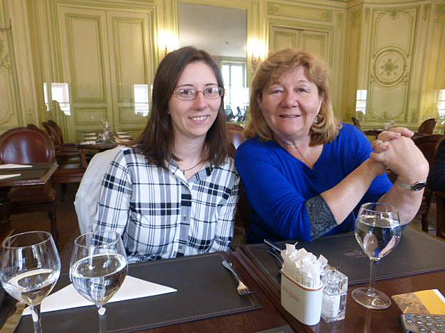 Eating at Versailles