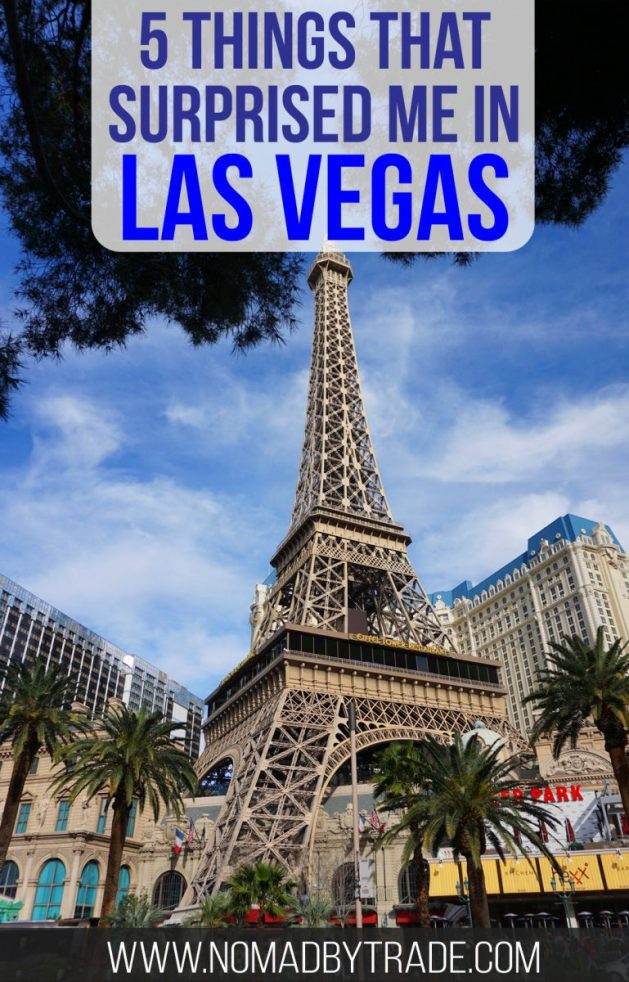 Five surprising things about the Strip in Las Vegas, Nevada