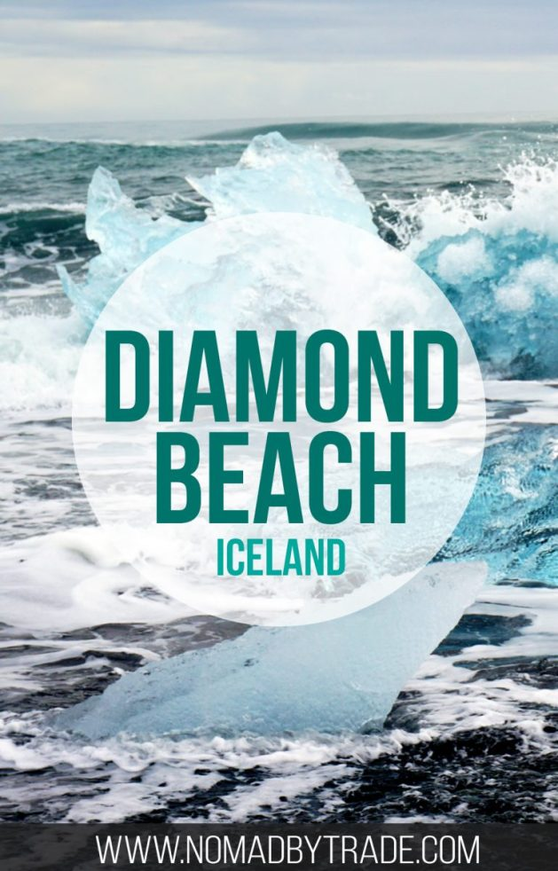Diamond Beach in Iceland, located near Jokulsarlon, is a must-see stop on your Ring Road trip.