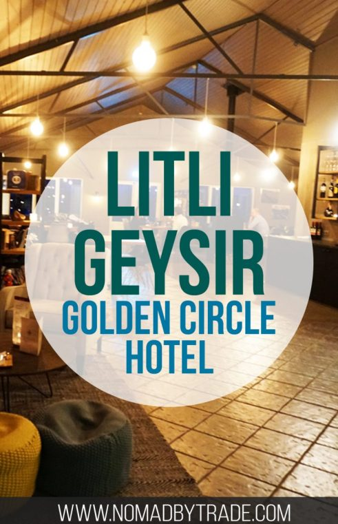 The Litli Geysir Hotel is the perfect spot to stay when exploring the Golden Circle in Iceland.