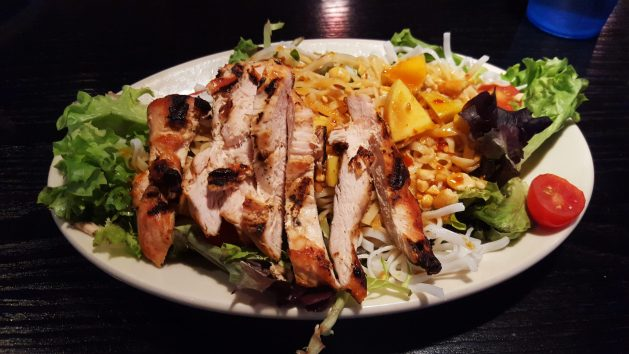 Thai chicken salad at the Recovery Room - Albany Dining Guide