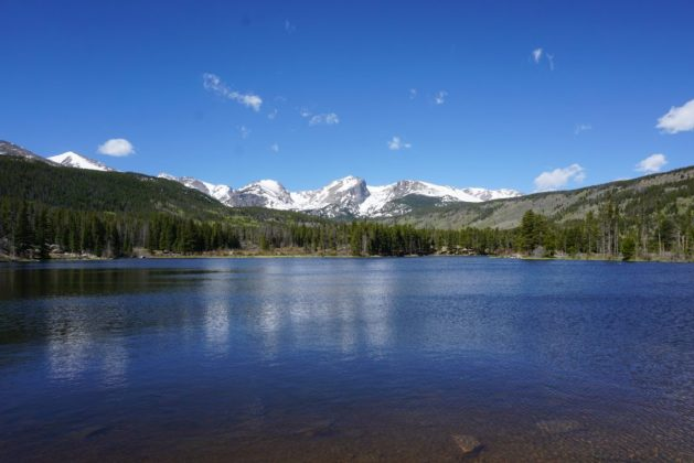 Reservoir at Pikes Peak