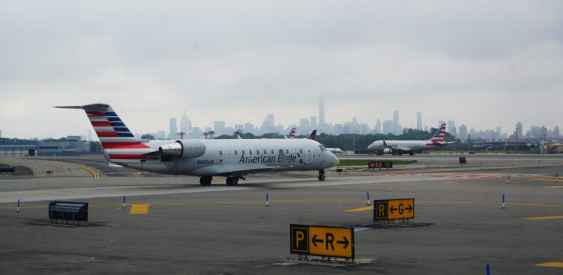 Planes at LaGuardia airport - the future of travel