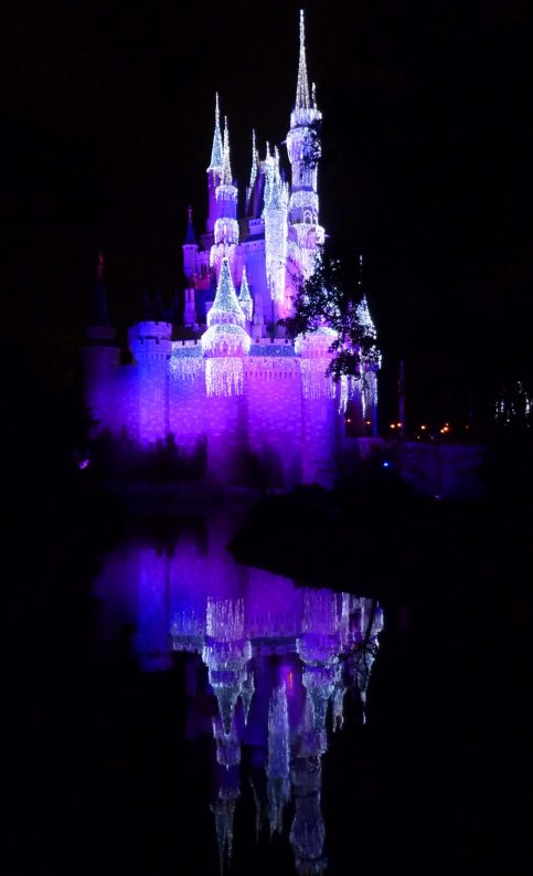 Reflection of Cinderella Castle at the Magic Kingdom
