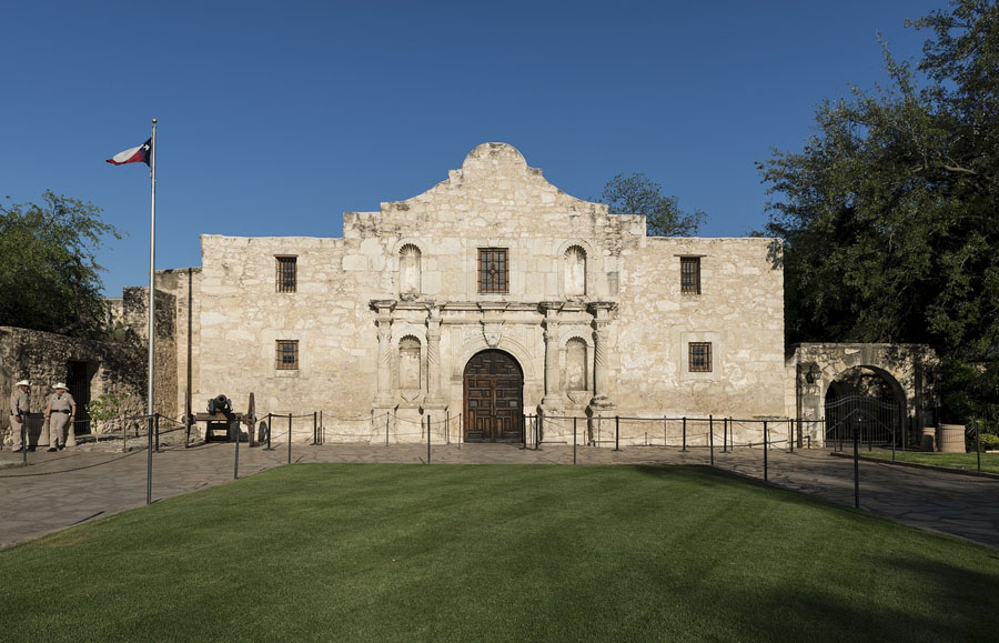 Historic Alamo in San Antonio, Texas