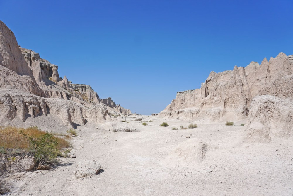Part of the Notch Trail in Badlands National Park