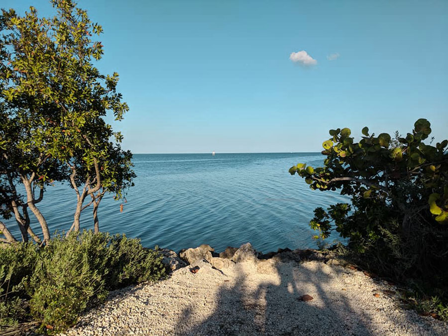 Oceanview in Biscayne National Park