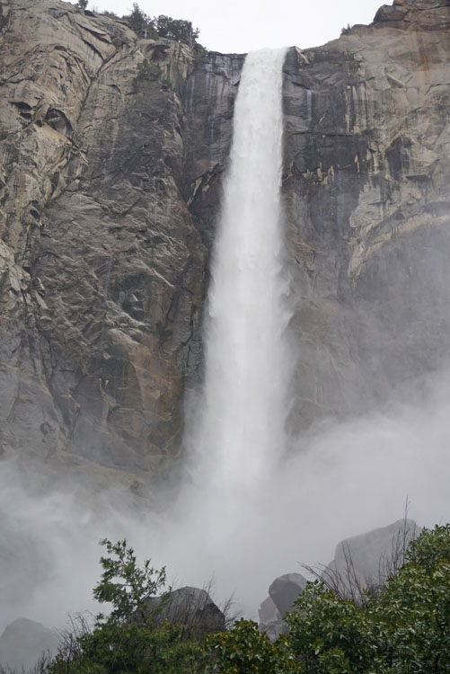 Bridalveil Fall in Yosemite Valley, part of your itinerary for two days in Yosemite