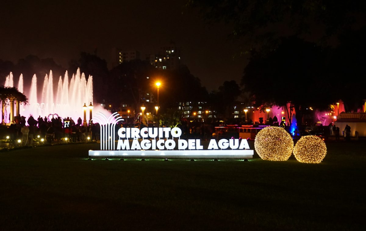 Nine Reasons Not to Miss the Parque de la Reserva's Circuito Mágico del Agua in Lima