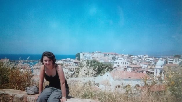 Crete in 2004 - First trip to Europe