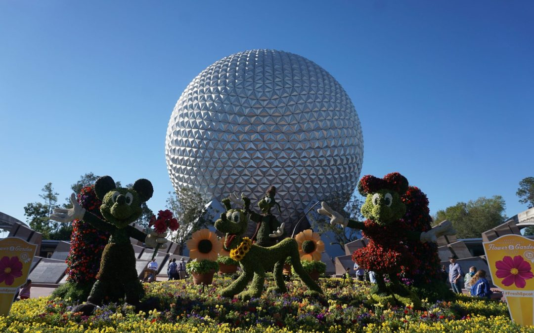 The Epcot International Flower and Garden Festival