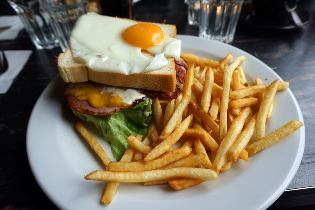 Hangover killer sandwich - breakfast in Reykjavik