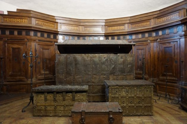 Treasury in Castel Sant'Angelo