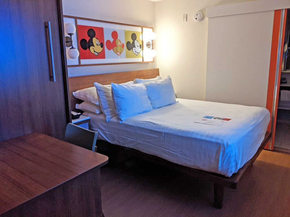 Pop Century renovated room with murphy bed
