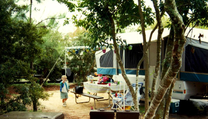 Camping at Disney World's Fort Wilderness Resort in the '90s
