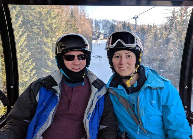 Ski lift at Hinterstoder