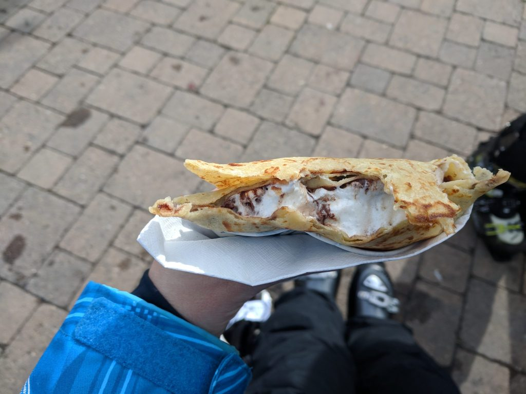 Crepe at Squaw Valley base area