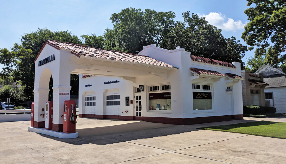 Gas Station at Little Rock Central High National Historic Site