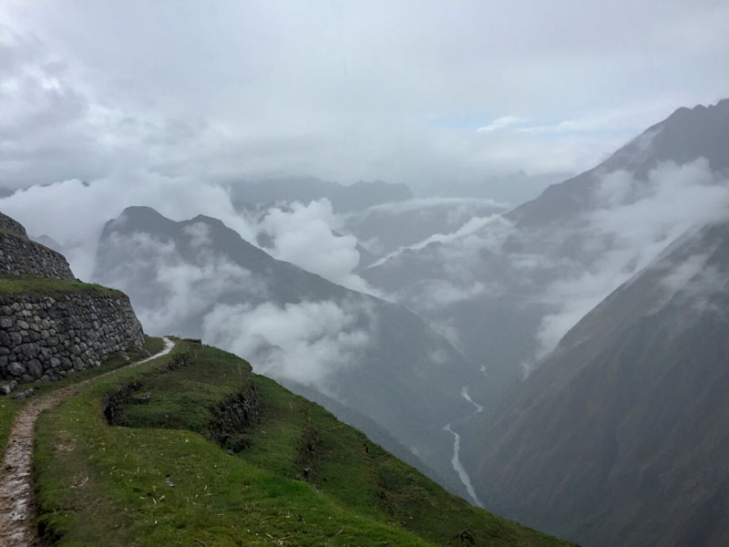 View from the Inca Trail