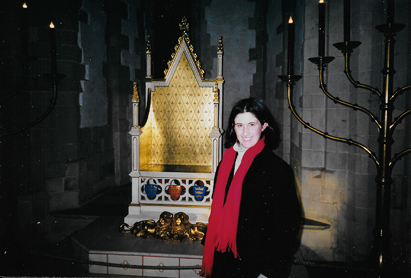 London in 2000 - First trip to London