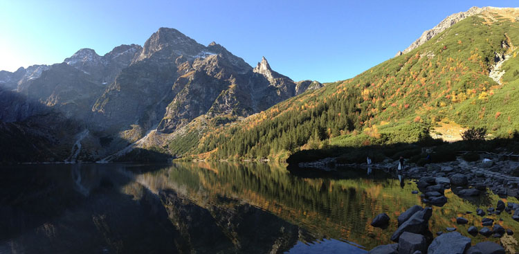 Morskie Oko in the Polish Tatras