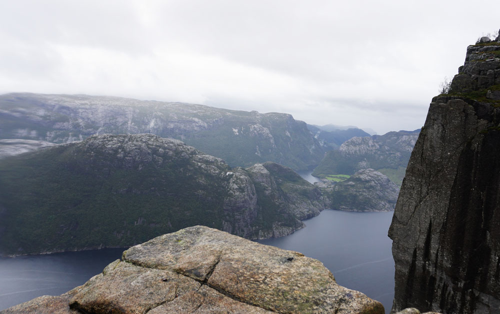 View from Pulpit Rock Norway