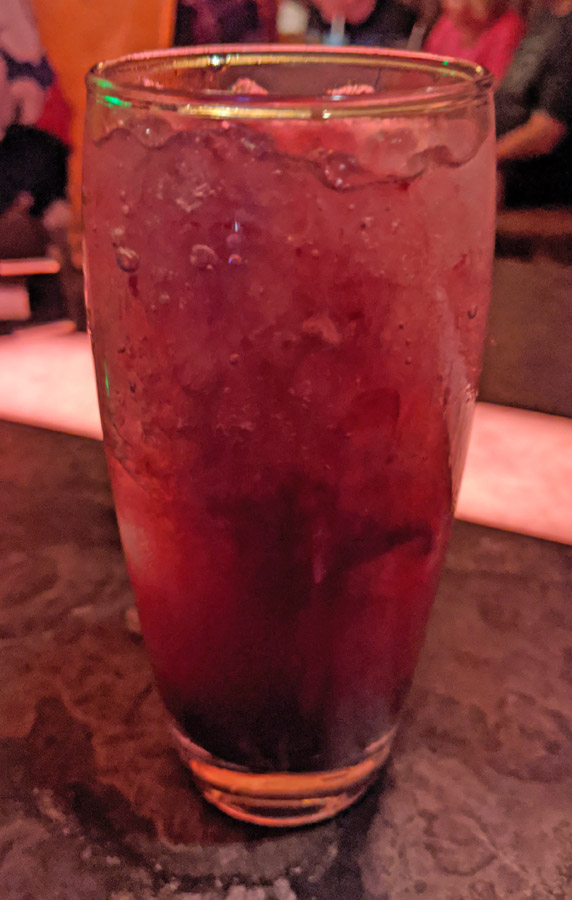 Hyperdrive (Punch it!) mocktail in Oga's Cantina