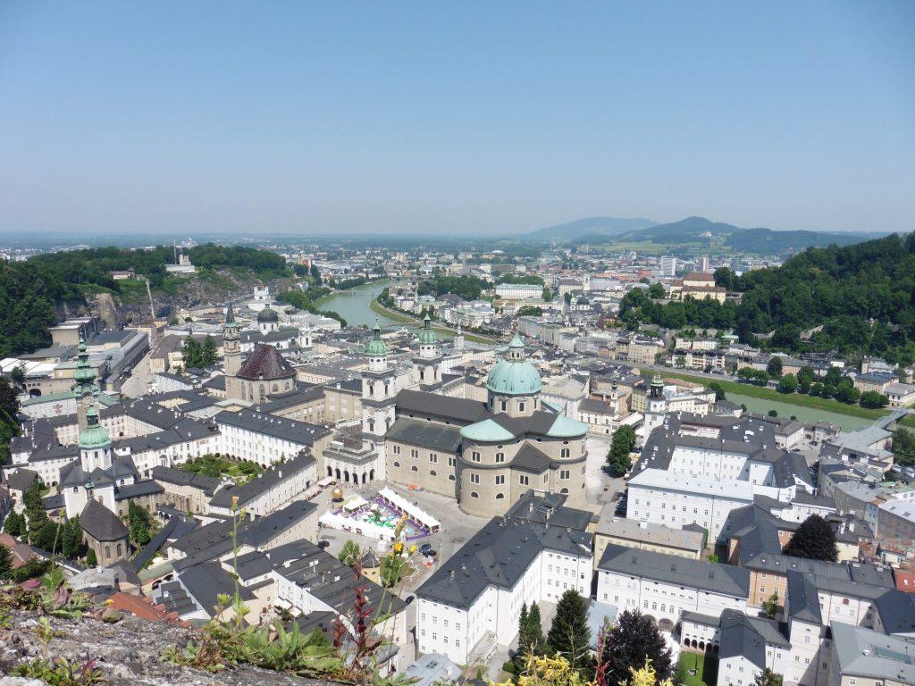 Fortress Hohensalzburg in Salzburg, Austria