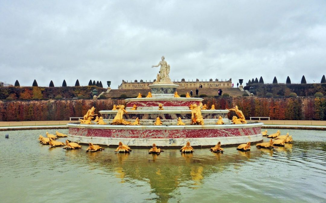 Versailles in winter - Visiting the Versailles gardens in winter
