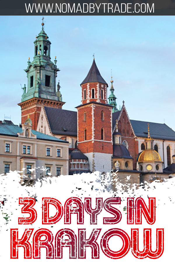 Wawel Cathedral with text overlay