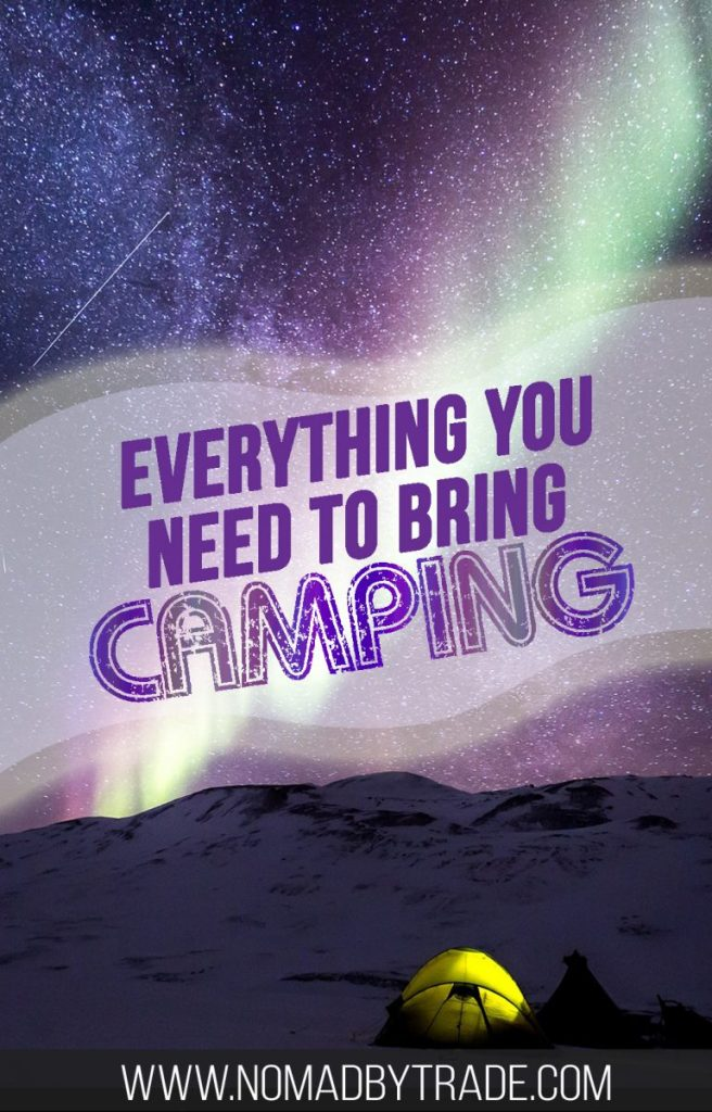 Use this camping packing list to make sure you're fully prepared for your trip. It features all of the camping equipment and camping supplies you'll need, from basics like a tent to clothing to camp cooking gear. #PackingList   #Camping   #CampingGear   What to bring camping   Family camping tent   Camping tools   Camping equipment   Camping supplies   What to buy for camping