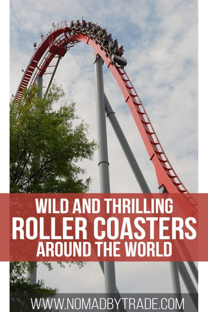 This list of the world's best roller coasters has something for everyone. These wild thrill rides at theme parks around the world will leave your heart pounding. #RollerCoaster #ThemePark #AmusementPark #CedarPoint #Tivoli #SixFlags #UniversalStudios #Efteling #ThrillRide