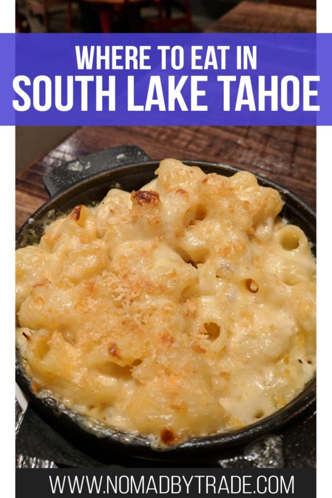There are plenty of South Lake Tahoe restaurants to pick from, but which ones are the best? I taste-tested a ton of them so you can find the most delicious food. Find out which are the best restaurants on the water, where the best pizza is, and more. #California #LakeTahoe #Foodie #Nevada #SouthLakeTahoe #Restaurants