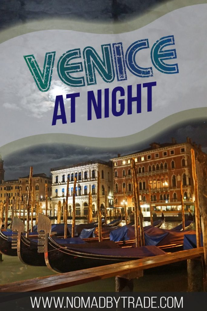 Exploring Venice, Italy at night is a perfect way to fall in love with the city and its canals. All of its famous landmarks like the Piazza San Marco, St. Mark's Basilica, and winding canals are lit up and more beautiful than ever. Check out these photos that will inspire you to find the romantic side of Venice.