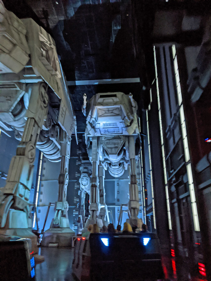 AT-AT Walkers in Rise of the Resistance