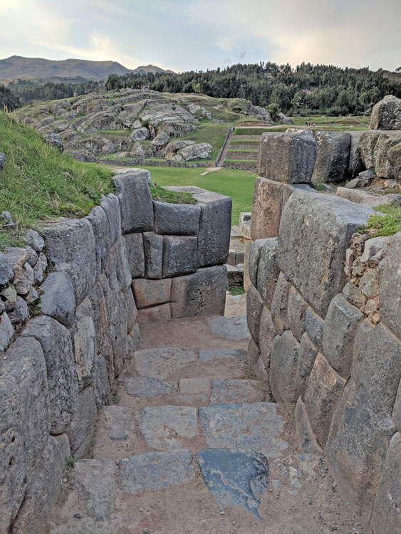Incan stones in Sacsayhuaman, one of the top things to do in Cusco, Peru