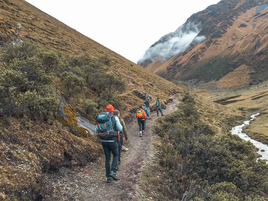 Hikes along the Salkantay Trek in Peru