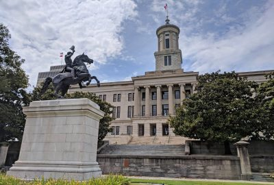 Statue on the Tennessee State Capitol Grounds