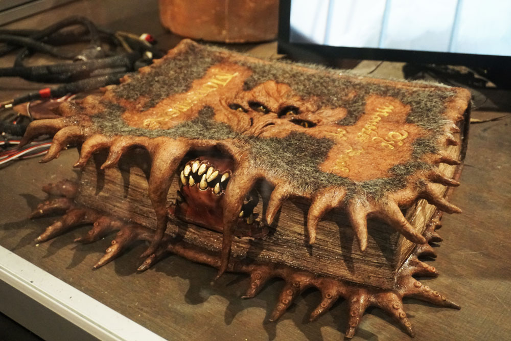 The Monster Book of Monsters from the Harry Potter books